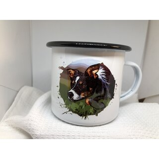 Emaille-Tasse individuell
