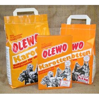 OLEWO Karotten Pellets - 1 kg