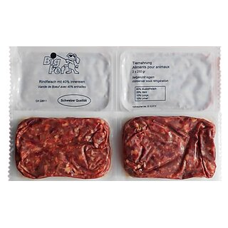 Rindfleisch mit Innereien 2 x 250 g - TK