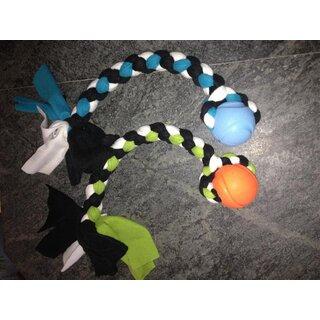 Fleece-Seil mit Ball