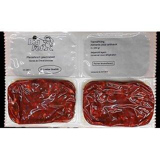 Pferdefleisch geschnetzelt 2 x 250 g - TK