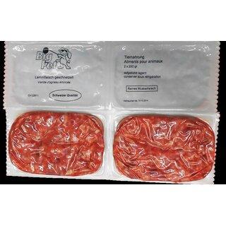 Lammfleisch 1a geschnetzelt 2 x 250 g - TK