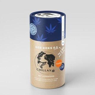 Chillax Hunde - Kürbis/Huhn - 0.5mg CBD